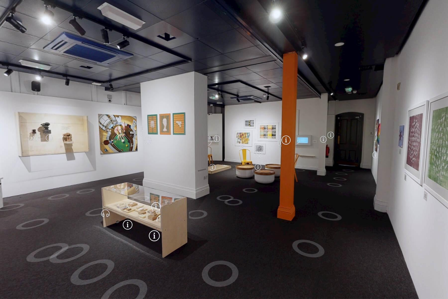 Virtual exhibition space